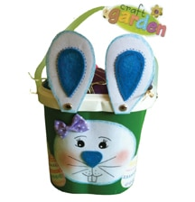 Easter bunny basket.