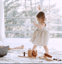 Precious toddler time
