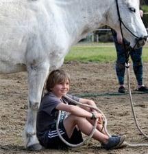 Holidaying with horses