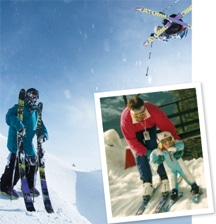 Raising a champion freeskier
