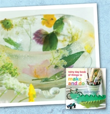 Arts and Craft- Flower Ice Bowl