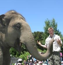 Raising a Zoo keeper