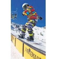 Sporty snowbunnies