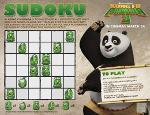 Complete the sudoku puzzle