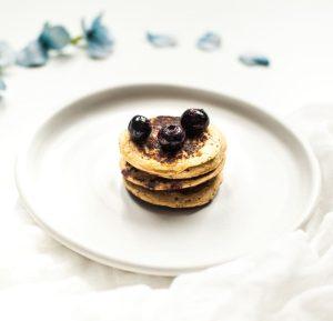 Healthy 3 Ingredient Pancakes