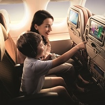 Singapore Airlines – super family friendly