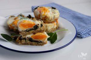 Kumara Hash Egg Muffins