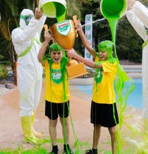 Sign up your kids and their besties to be slimed!
