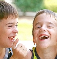 Kids and jokes