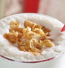 Cereal milk thickshake