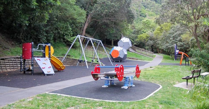 Hidden Down A Gravel Track Recent Refurbishment Means This Park Is Fitted Out With The Coolest Equipment To Keep Kids Busy