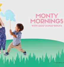 Monty Mornings with LEGO® DUPLO® Bricks at Westfield