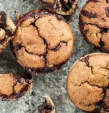 Oaty Choc Muffins