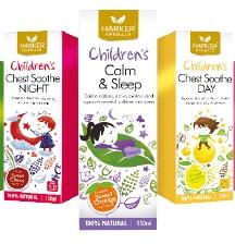 Harker Herbals children's natural herbal syrups