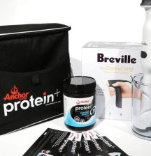 Anchor protein shake giveaway