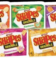 Arnott's shapes prize pack