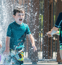 Where to find splash pads