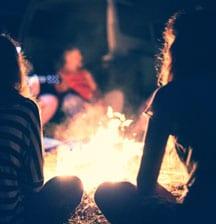 Teen DIY fire pit