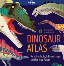 Dinosaur Atlas, by Anne Rooney and James Gilleard