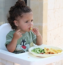 1 in 3 children have serious problems with eating – but help is at hand