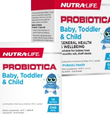 Nutra-life probiotics packs