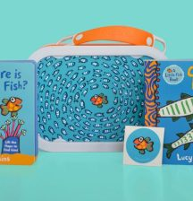 Luxury little fish lunchbox pack