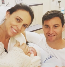 It's a girl! Jacinda's 3 stages of Labour