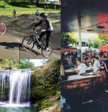 Weekend circuit: Waterfall splash 'n' ride
