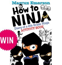 How to Ninja: Diary of a 6th Grade Ninja Activity Book