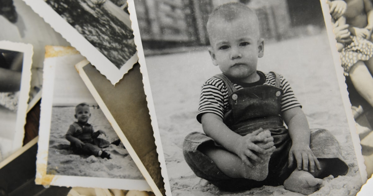 vintage photos of children showing the change of parenting advice over 200 years