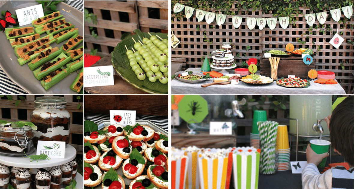 food ideas for birthday parties