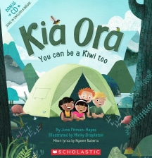 Kia Ora: You can be a kiwi too by June Pitman-Hayes