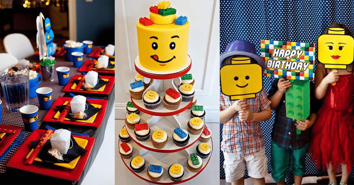 lego theme birthday idea