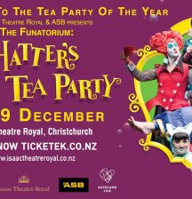 Win! Mad Hatter's Tea Party tickets