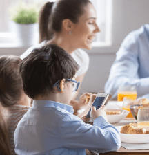 Digital devices during family time could exacerbate bad behaviour