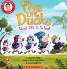 Five Little Ducks Went Off To School By Peter Millett, Stevie Mahardhika and Jay Laga'aia