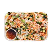 Vietnamese vermicelli noodle salad