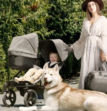 Your own luxury vehicle – in compact, baby-friendly form!