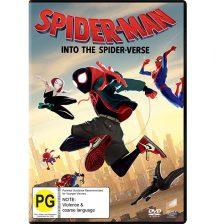 Win! Spider-Man Into the Spider-Verse DVDs