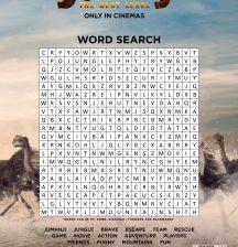 Jumanji word search