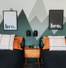 How to create a stunning shared bedroom for boys