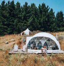 5 family-friendly glamping accommodations in the North Island