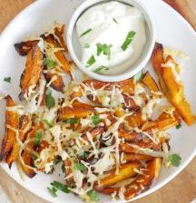Pumpkin and Parmesan chips