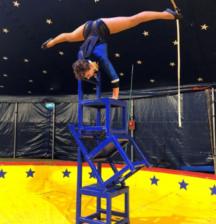 Performer at Aotearoa circus